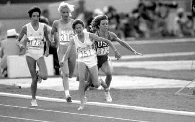 The Notorious Tangle Of Feet Between Zola Budd And Mary Decker Page 14 Of 30 Living Magazine
